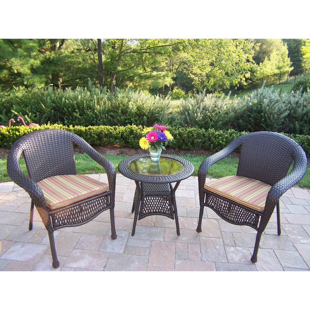 3 pieces patio bistro set  12