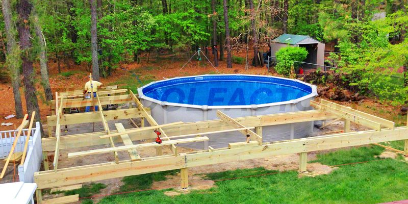 Above Ground Pool Deck  36