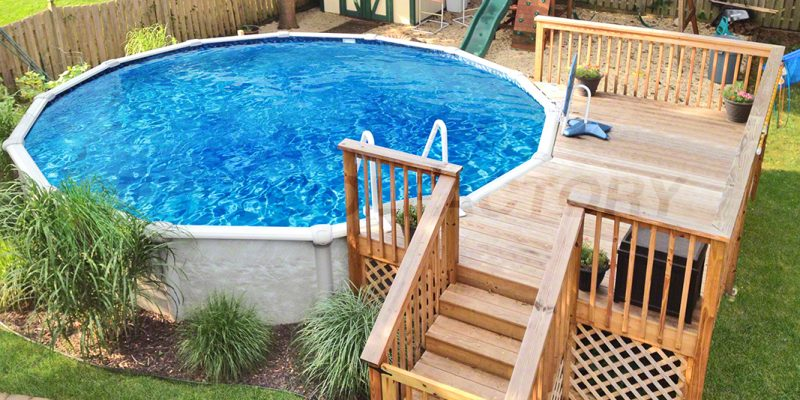 Above Ground Pool Deck is the next New Thing For your Home ...