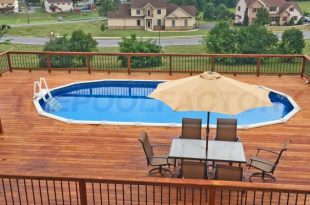Above Ground Pool Deck  80