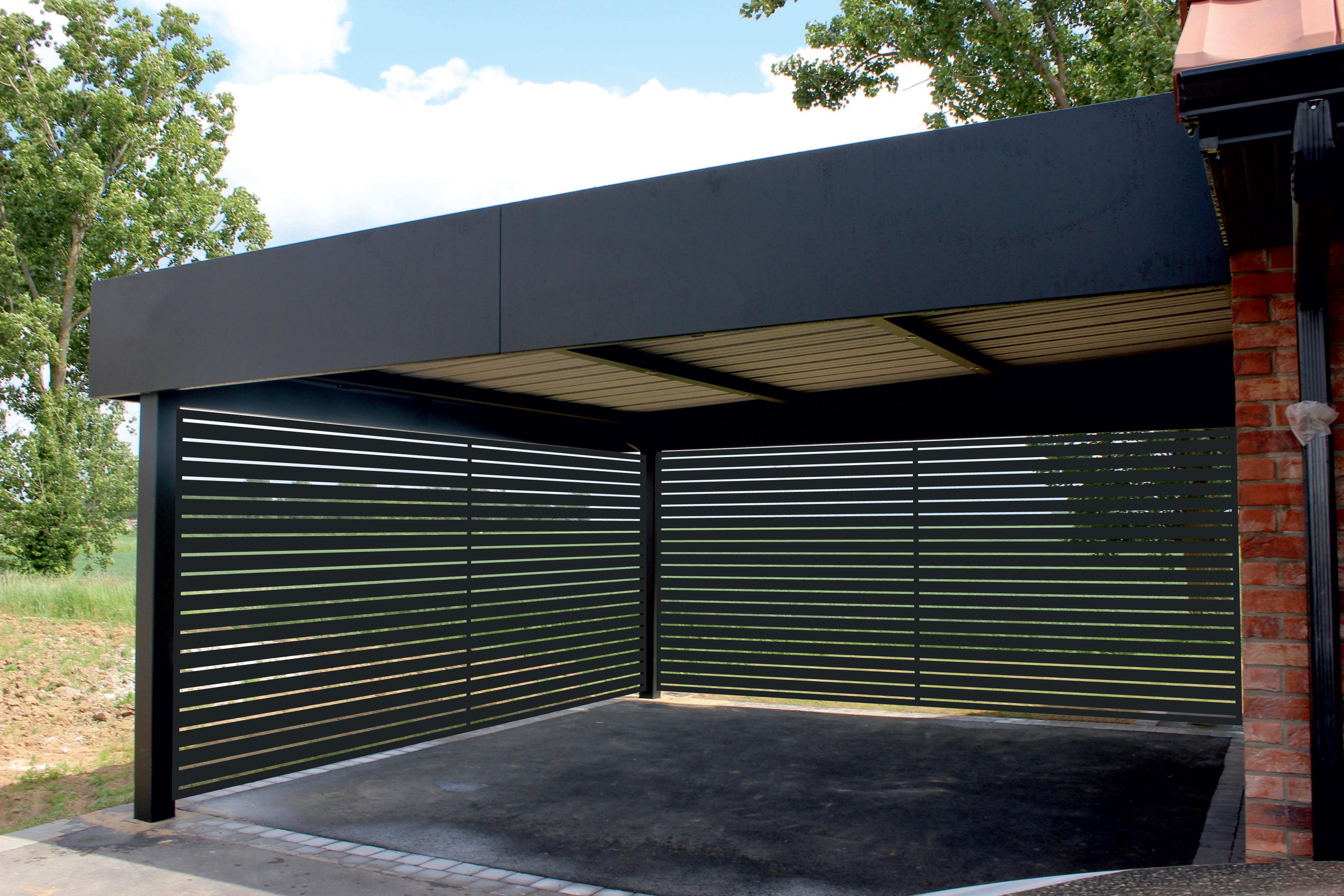 Aluminium carport  01