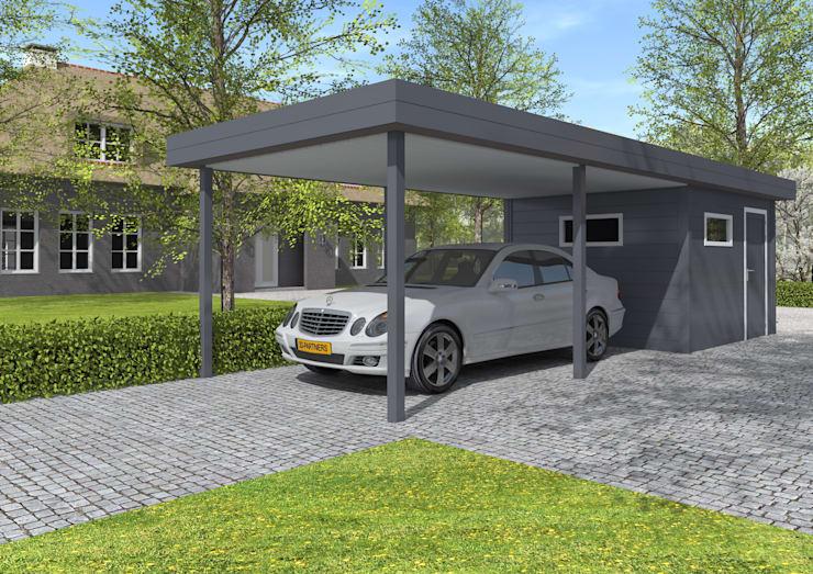 Aluminium carport 30