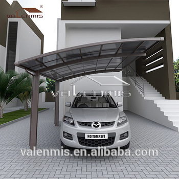Aluminium carport 62