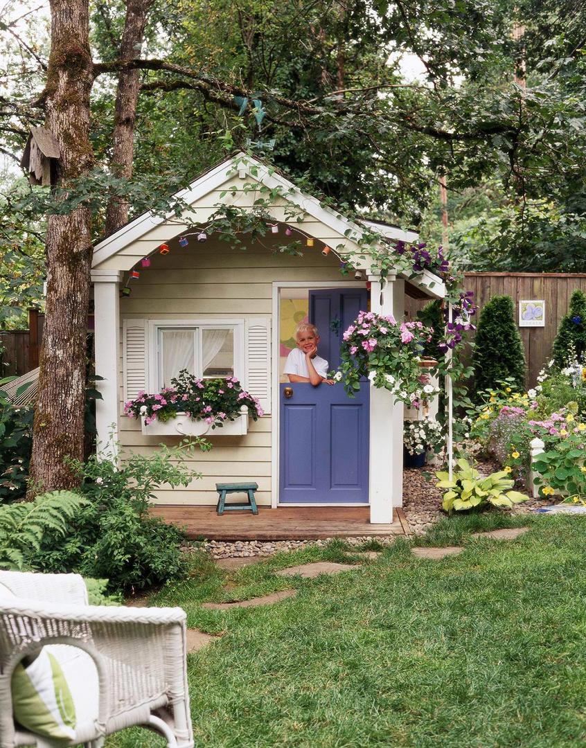 backyard playhouse  52