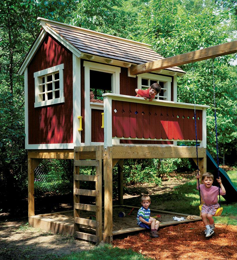 backyard playhouse  58