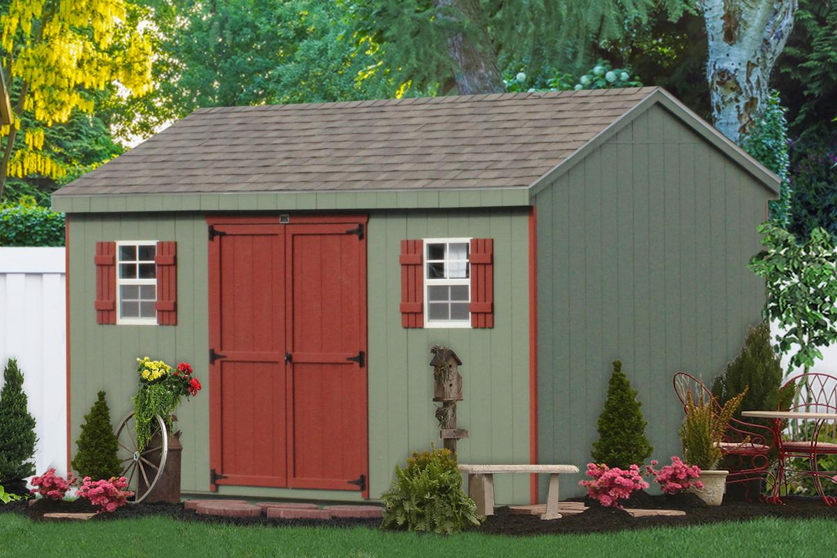 Backyard sheds  10
