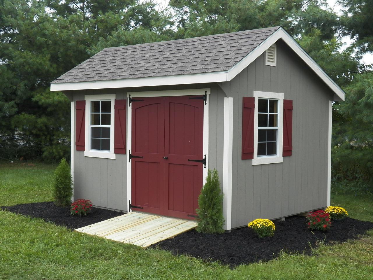 Backyard sheds  38
