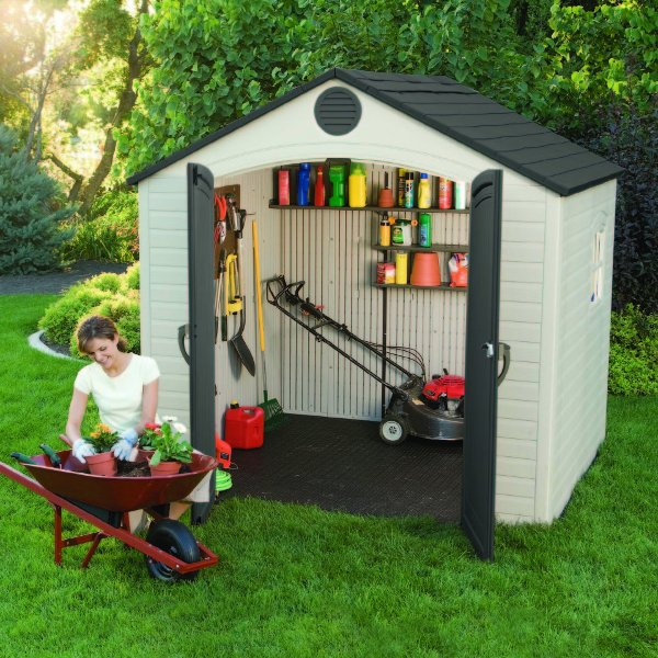 Multi-purpose Backyard Storage Space