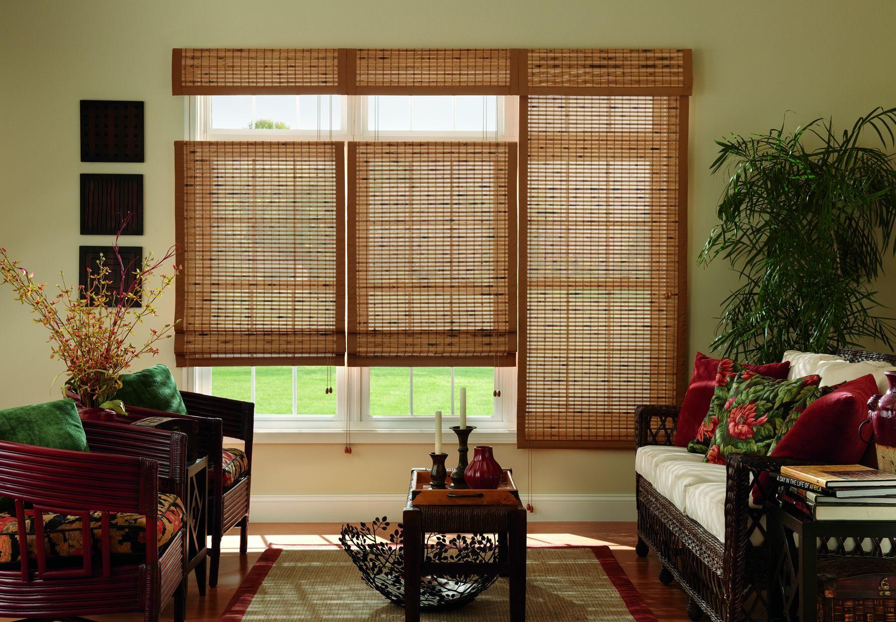 Bamboo shades  54