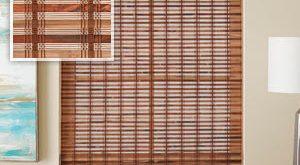 Bamboo shades  68