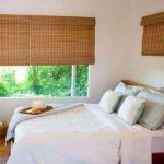Bamboo Window Shades for an elegant window