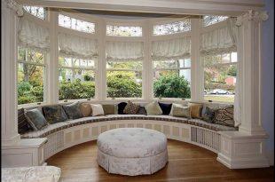 Bay window treatments  22