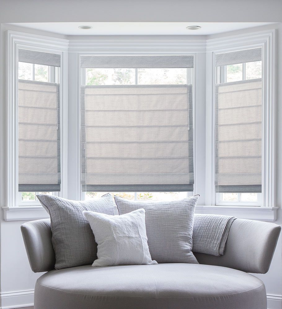 Bay window treatments  34