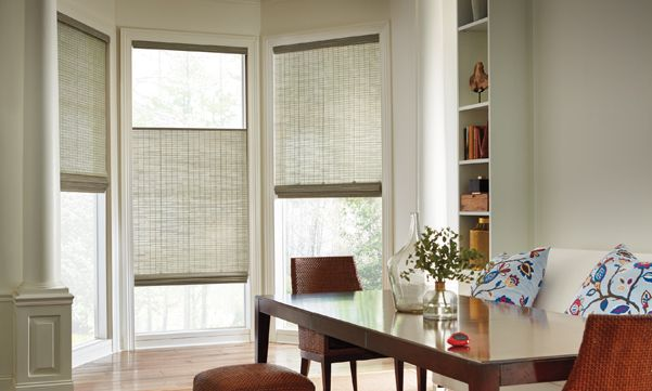 Bay window treatments  40