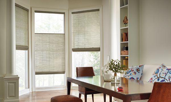 Bay window treatments  40