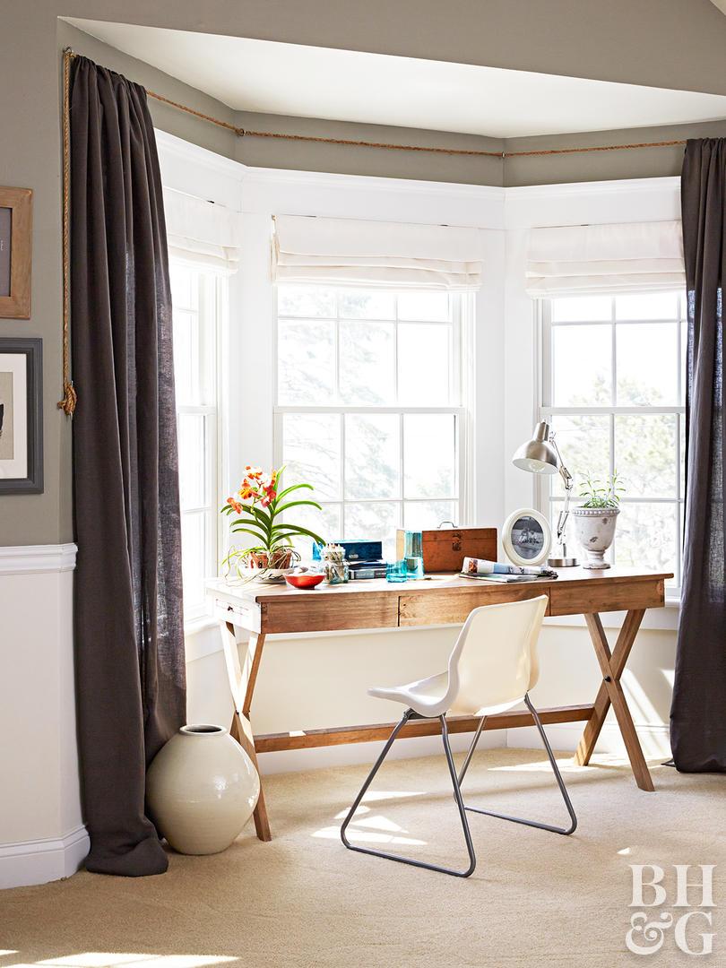 Bay window treatments  41