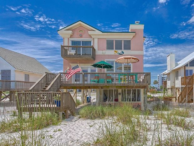 Beach Houses or The Vacation House