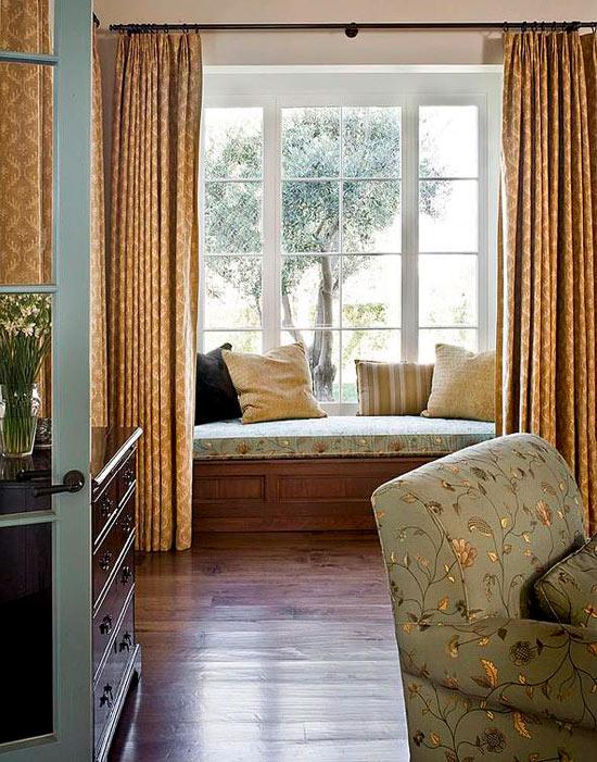 Bedroom window treatments  16