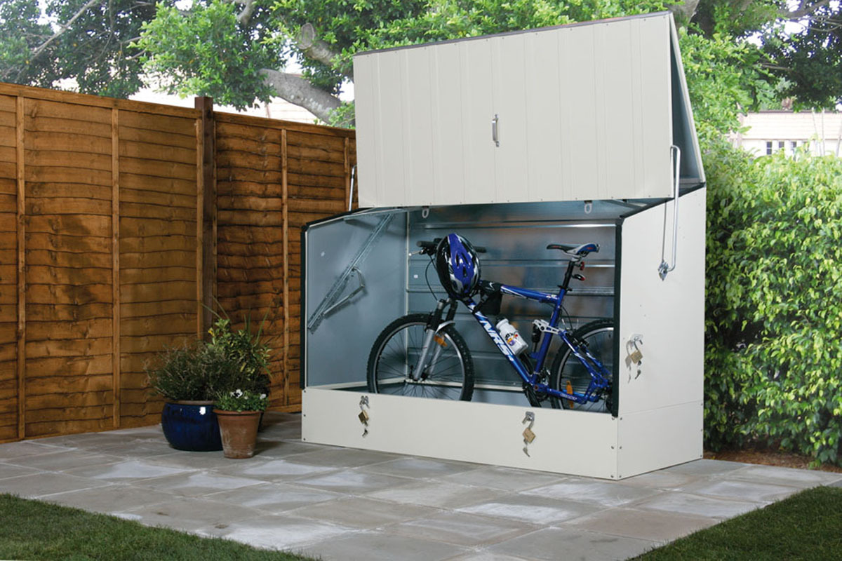 Bike storage sheds for the bike lovers