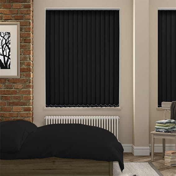 Black Blinds to keep out privy neighbours!