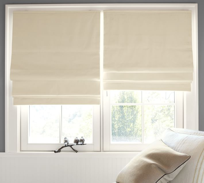 Blackout Roman shades  78