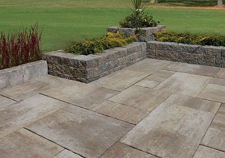 Brick pavers for a complete home