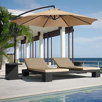 Stylish and Convenient Cantilever Patio Umbrella