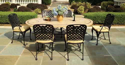 Cast Aluminium patio furniture for your backyard