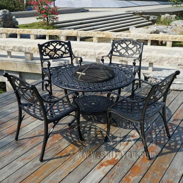 Cast Aluminium patio  71