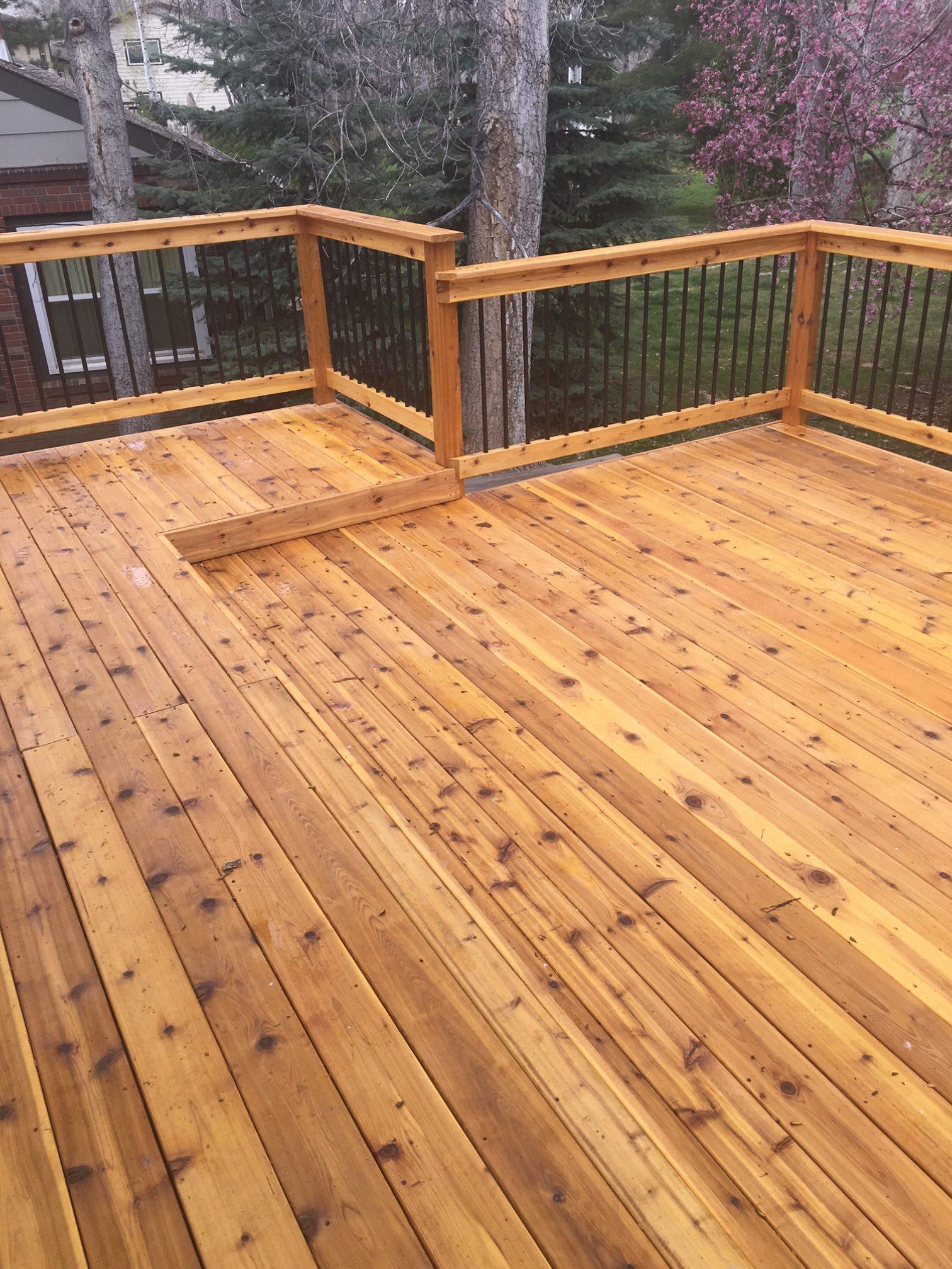Cedar decking  32