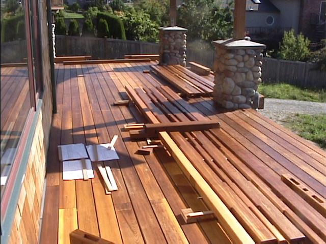 Cedar decking  33
