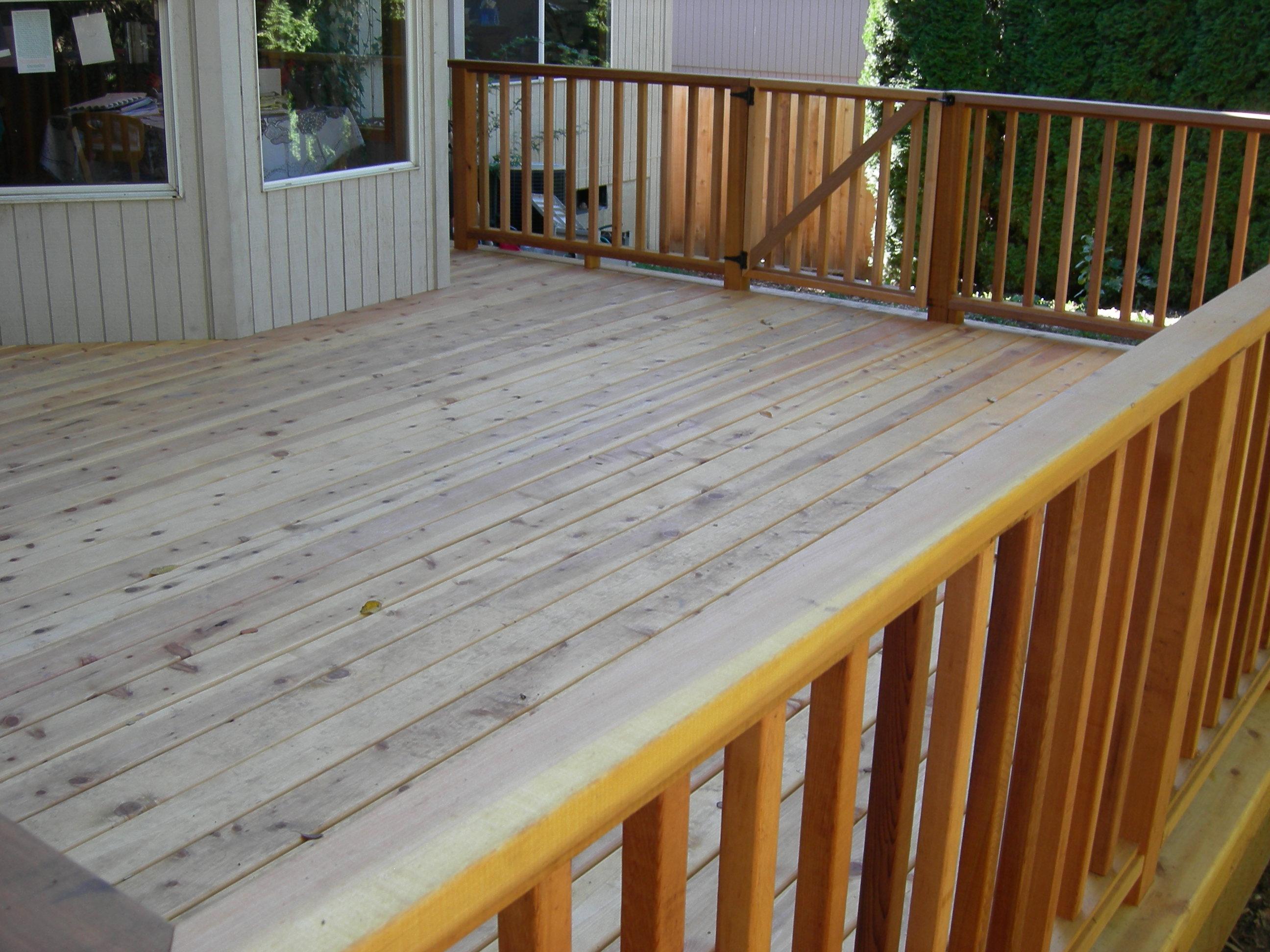 Cedar decking  53