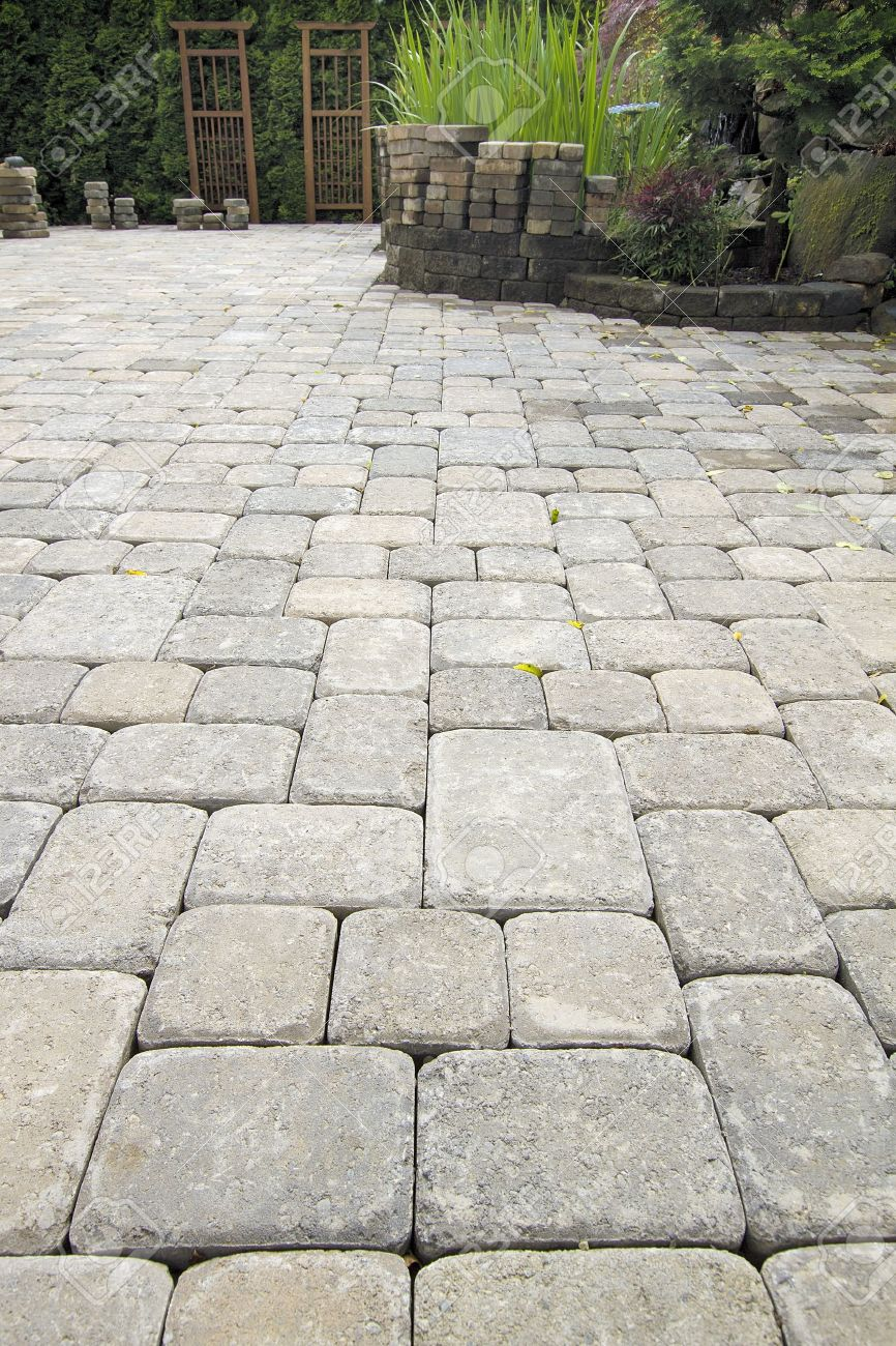 Cement pavers  20