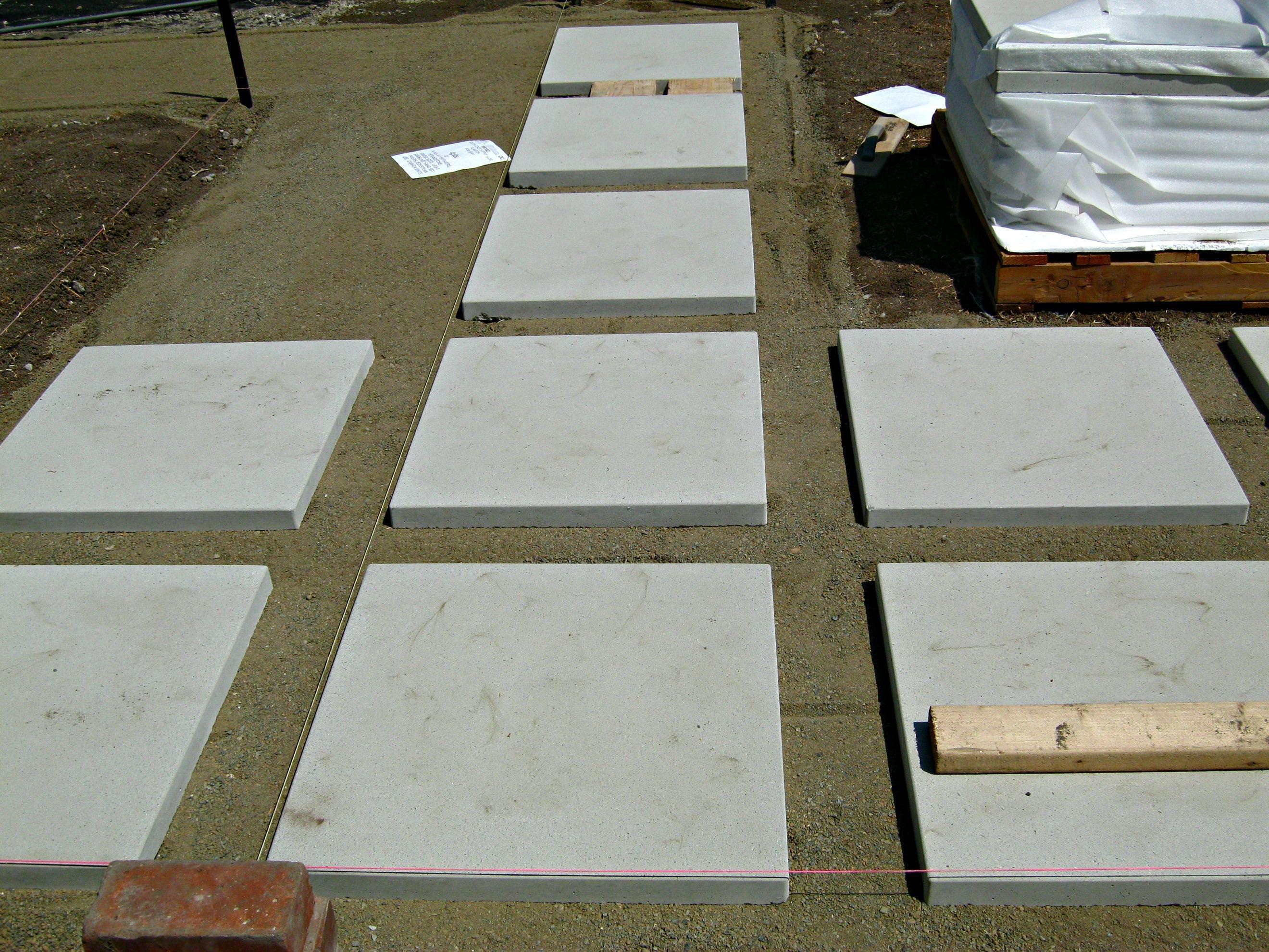 Cement pavers  41