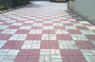 Cement pavers  76