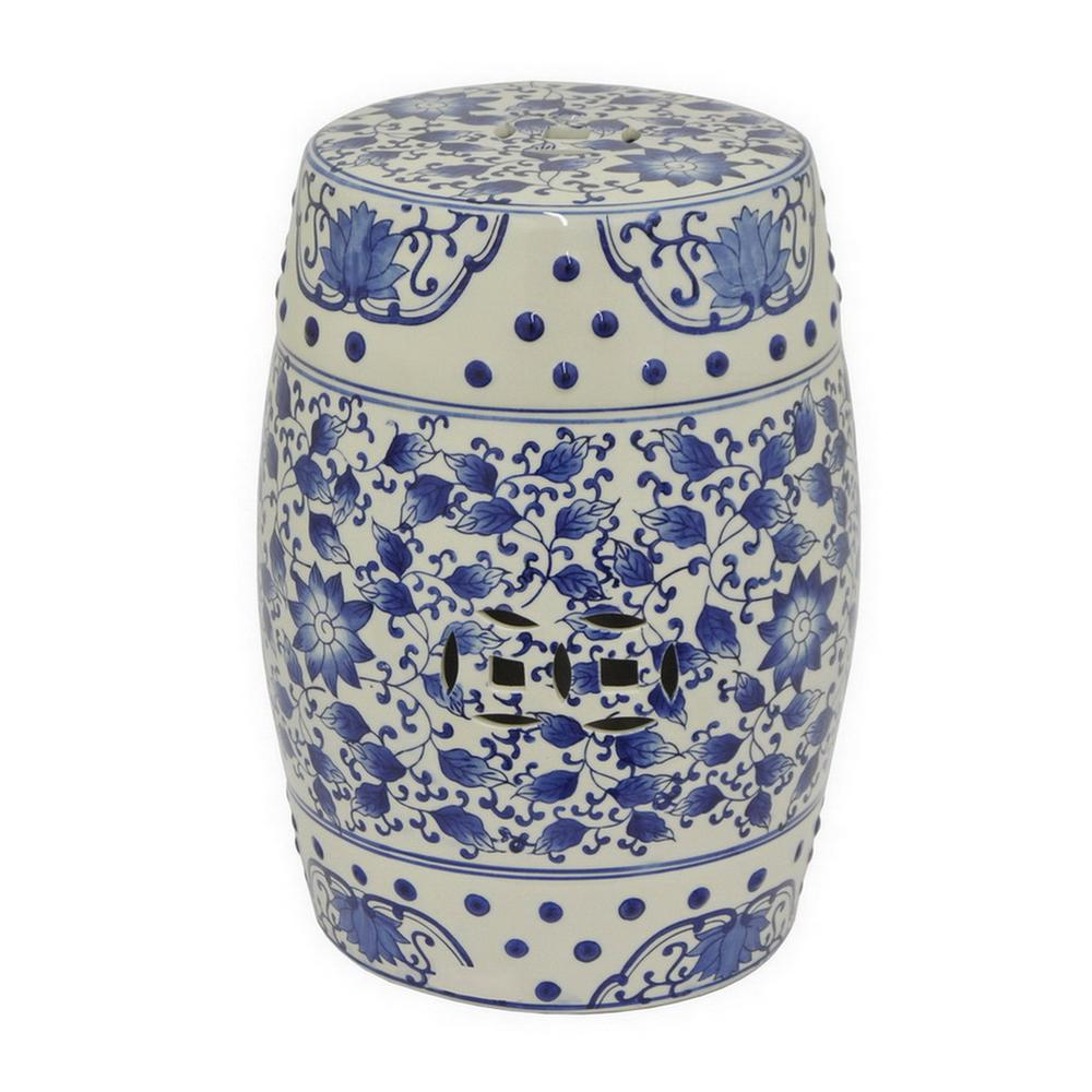 Ceramic Garden Stool  12