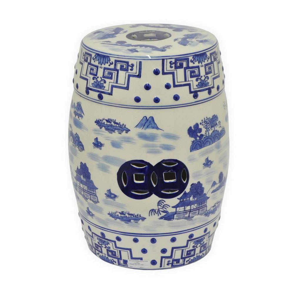 Ceramic Garden Stool  25