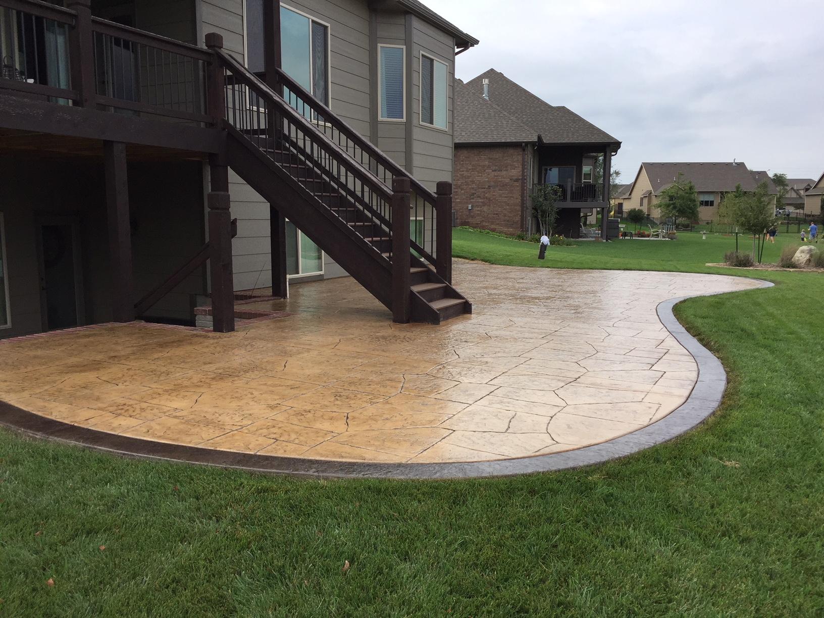 Concrete patios  20