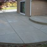 Concrete patios for a modern look
