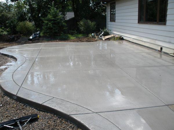 Concrete patios  36