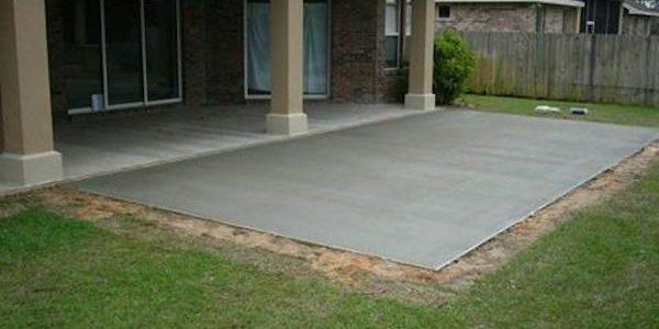 Concrete patios  59