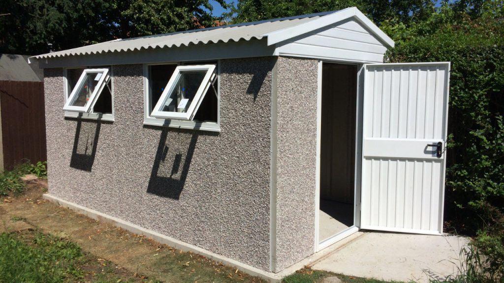 Concrete sheds  82