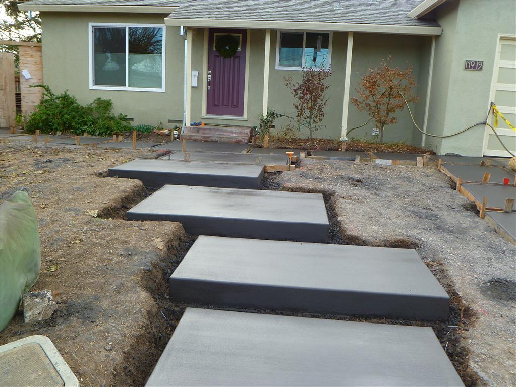 Concrete Stepping Stones  08
