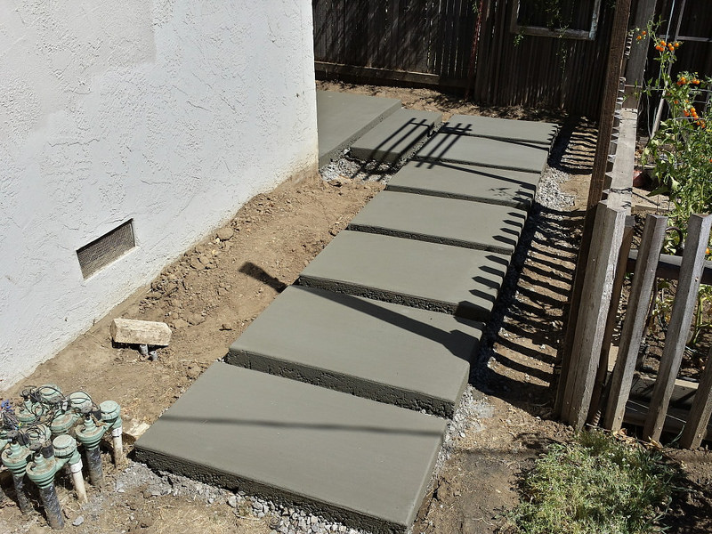 Concrete Stepping Stones  74