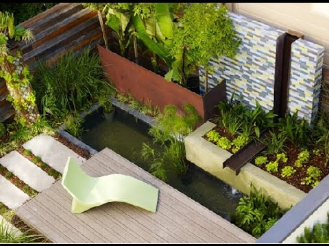 Decorate your home with the contemporary garden design