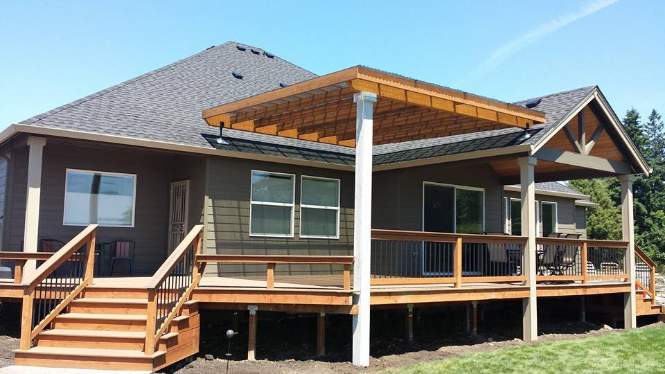 Building a covered deck is not a big deal