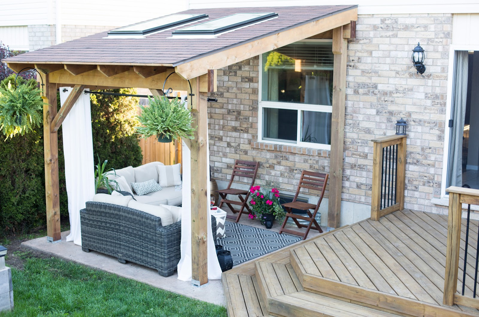Easy build Covered patios designs - CareHomeDecor