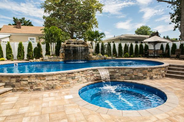 Enjoy luxurious custom pools