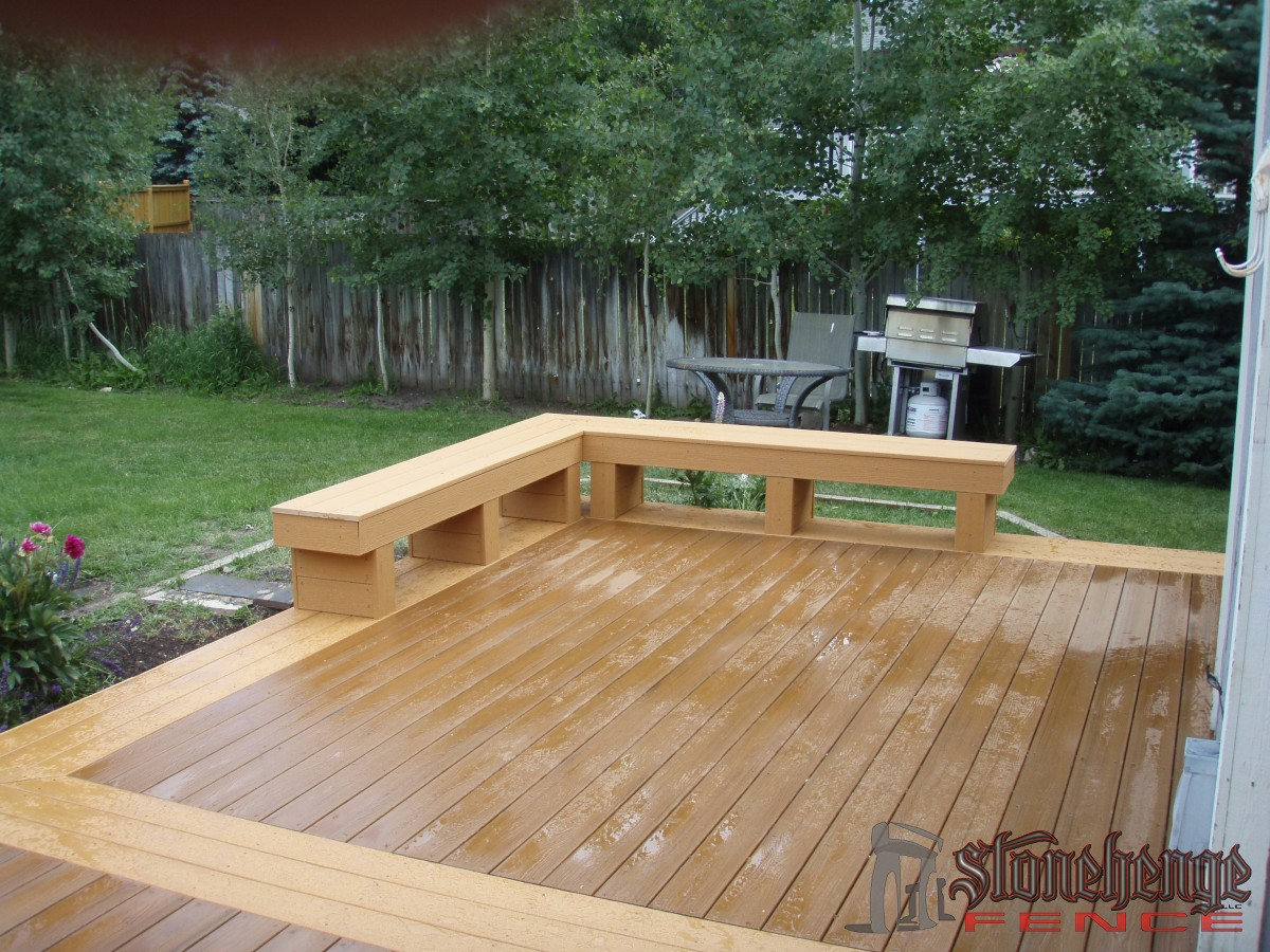 deck benches  15