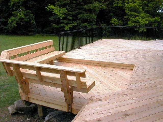 deck benches  46